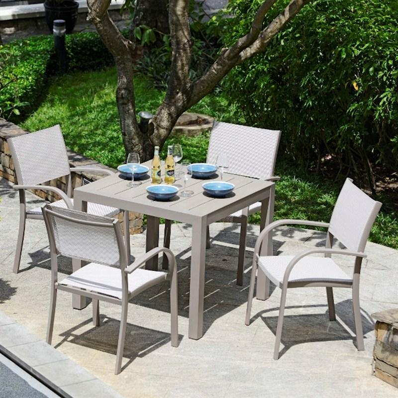Lifestyle Garden Morella 4 Seat Square Outdoor Garden