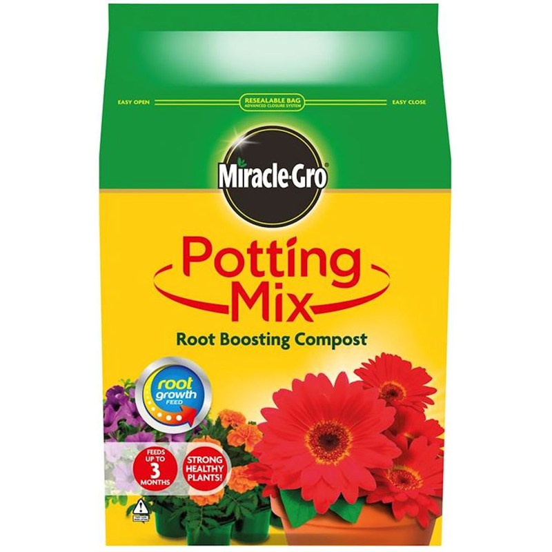 Miracle Gro Potting Mix Root Boosting Compost 8l 018967