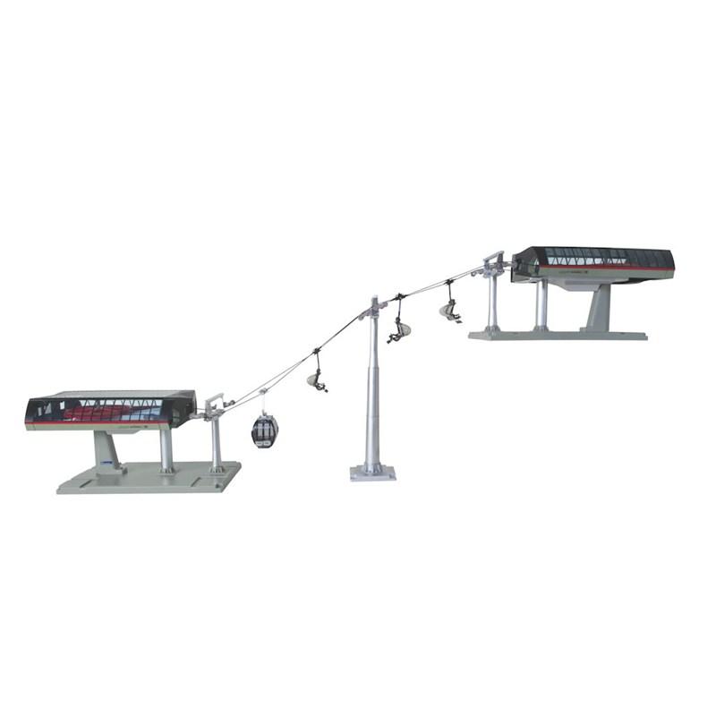 Christmas Village Ski Lift.My Village Christmas Village Ski Lift Accessories Black Red Jc84494