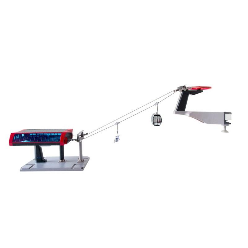 Christmas Village Ski Lift.My Village Christmas Village Ski Lift Basic Red Black Set Jc84391