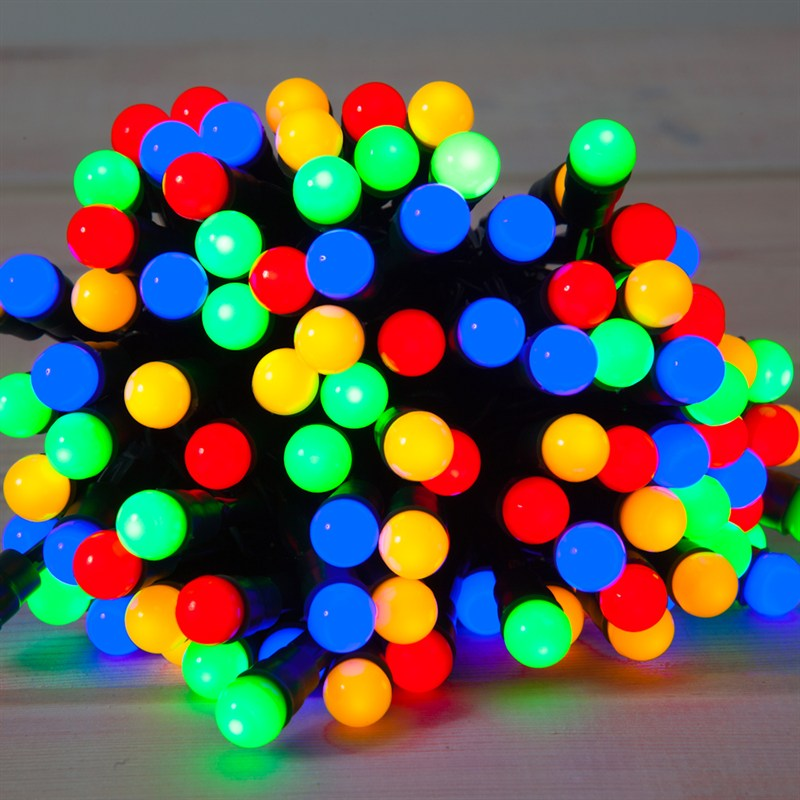 noma 50 fit forget multi coloured berry lights battery christmas lights 6816018gm