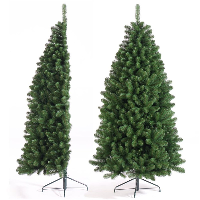 Half Christmas.Tree Classics 1 5m 5ft Green Half Tree Artificial Christmas Tree 60 279 558