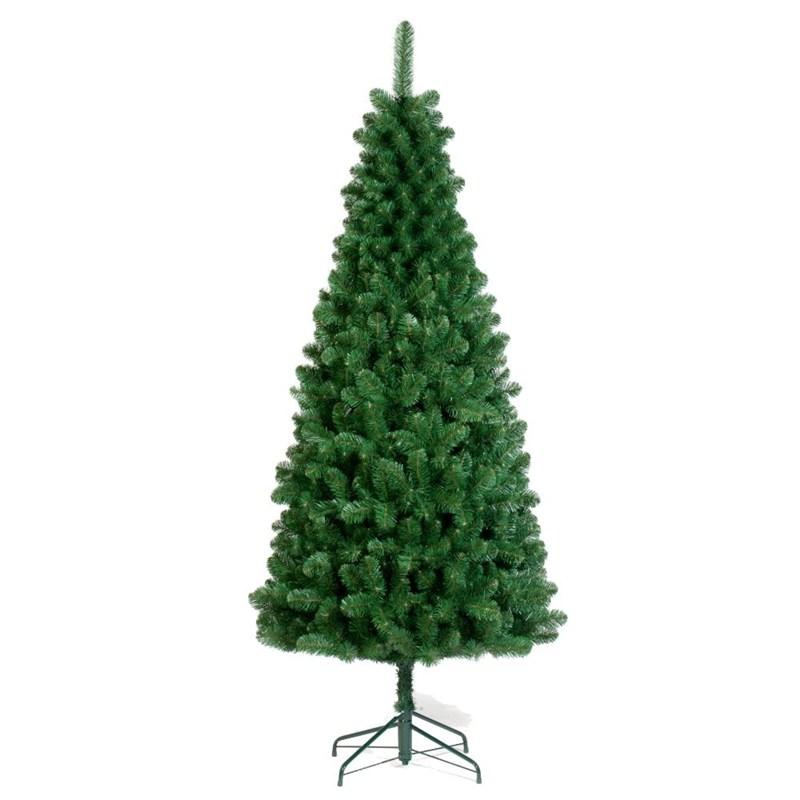 Tree Classics 1.8m (6ft) Green Slim Artificial Christmas ...