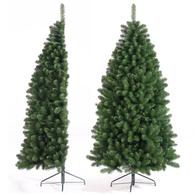 Half Christmas Tree.Tree Classics 2 1m 7ft Green Half Tree Artificial Christmas Tree 84 579 558