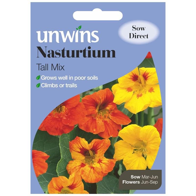 Nasturtium Tall Seeds