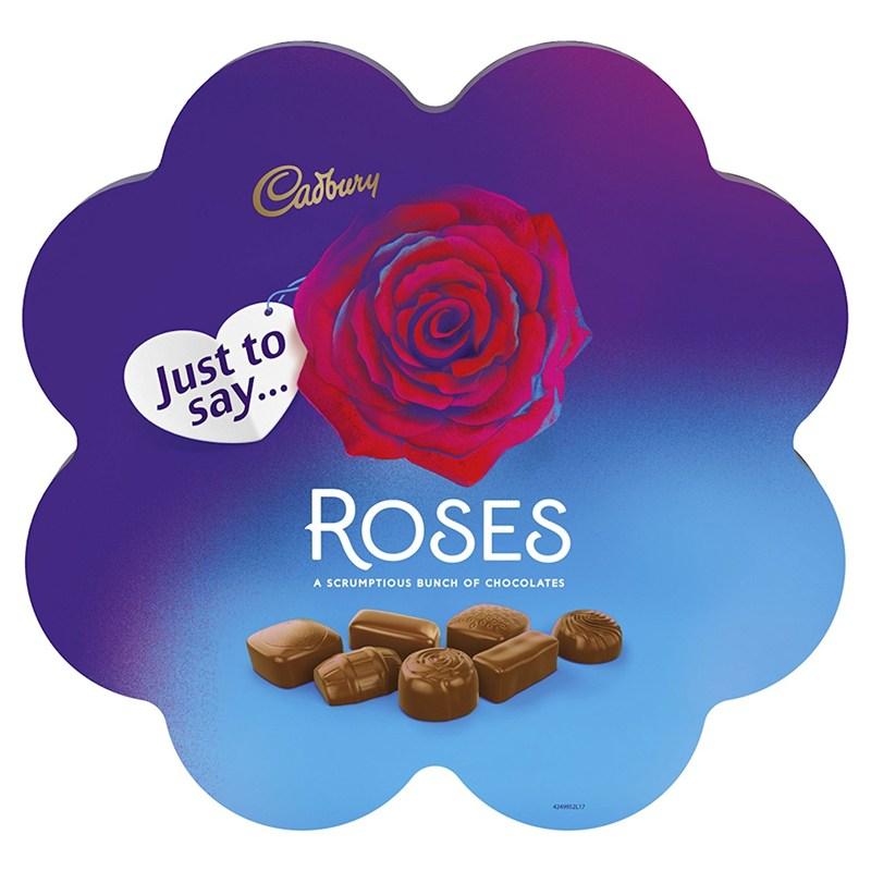 Valentine S Day Gifts Cadbury Roses Chocolate Flower Box 290g