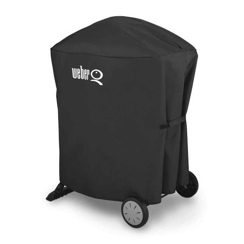 weber grill barbecue cover to fit q100 1000 200 2000 with stand 7120. Black Bedroom Furniture Sets. Home Design Ideas